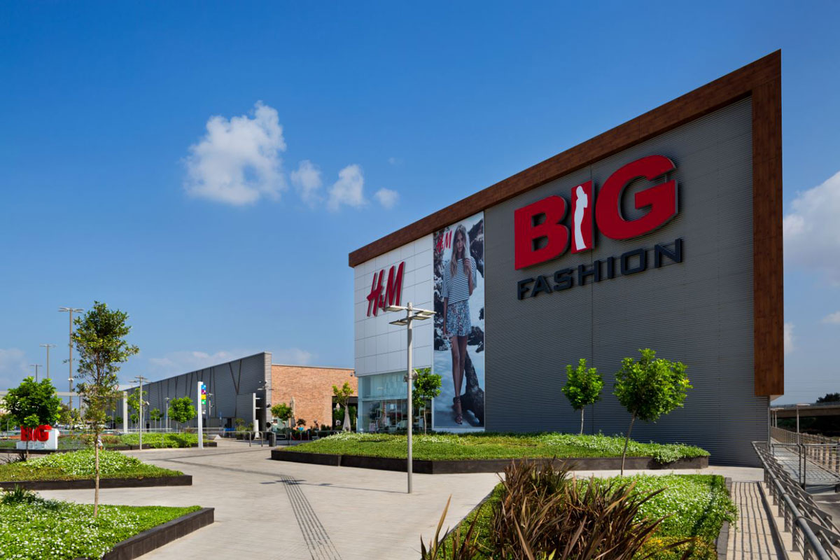 'Big' Shopping Centers