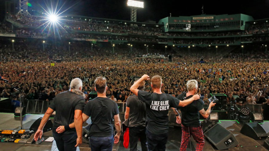 Photo by Rob Skinner, Official Pearl Jam Facebook
